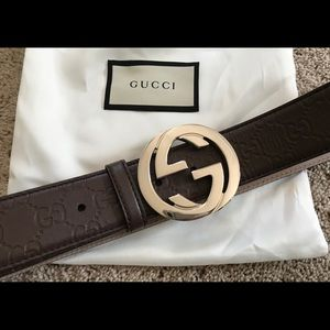 GUCCI belt with bag BRAND NEW